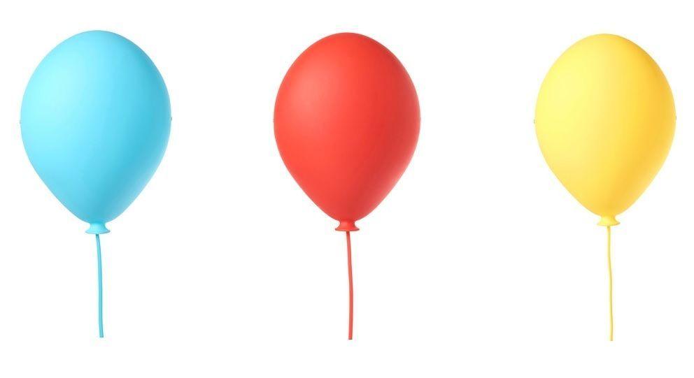 Charmant IKEA DROMMINGE Wall Light Balloon Shaped Childrenu0027s Wall Lamp Blue,red U0026  Yellow In Home, Furniture U0026 DIY, Lighting, Night Lights | EBay!