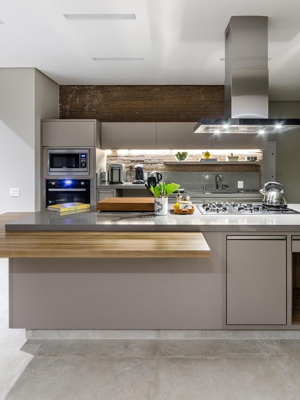 Cozinha Gourmet 60 Modelos Com Fotos E Projetos Cozinha