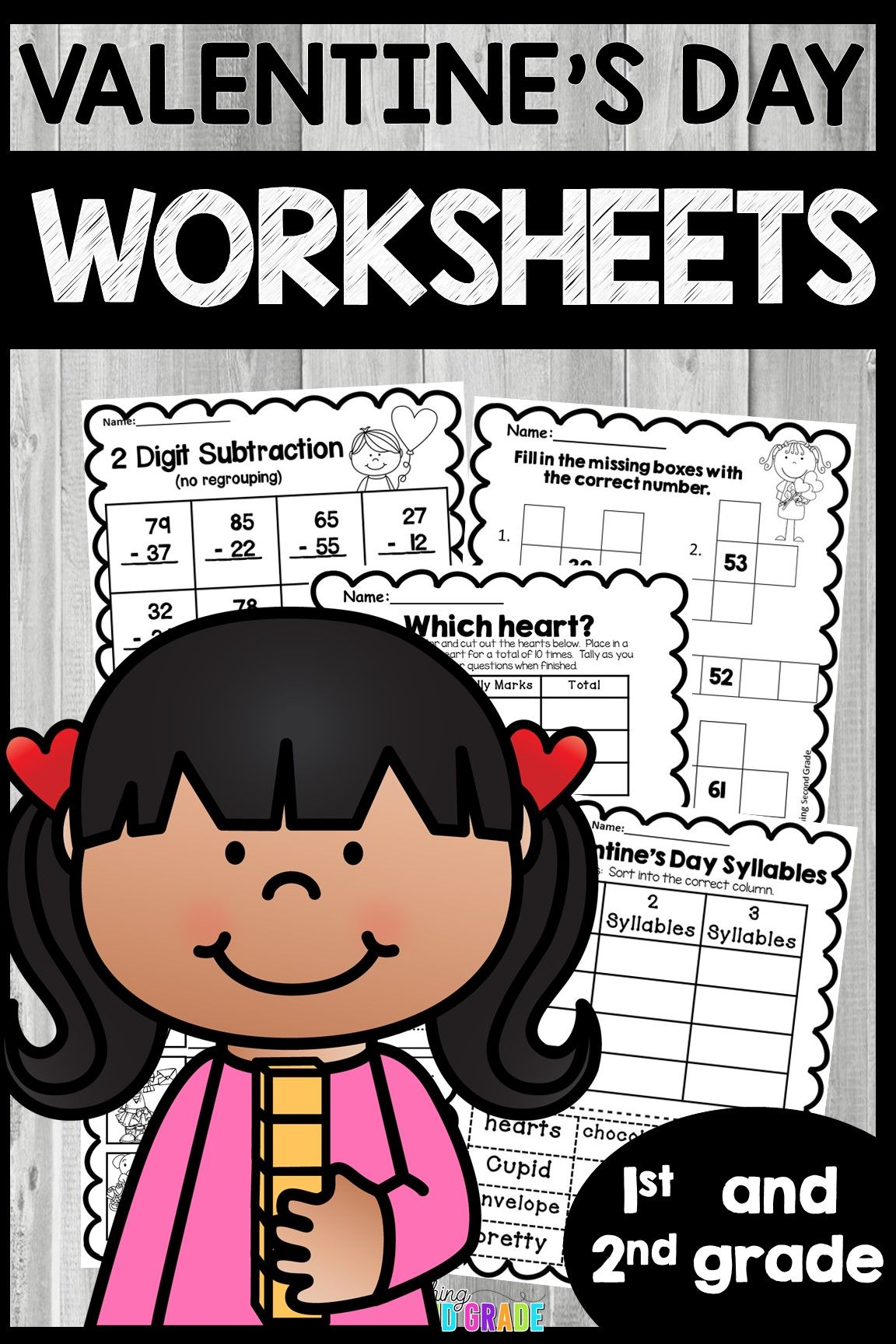 Valentine S Day Worksheets With Images