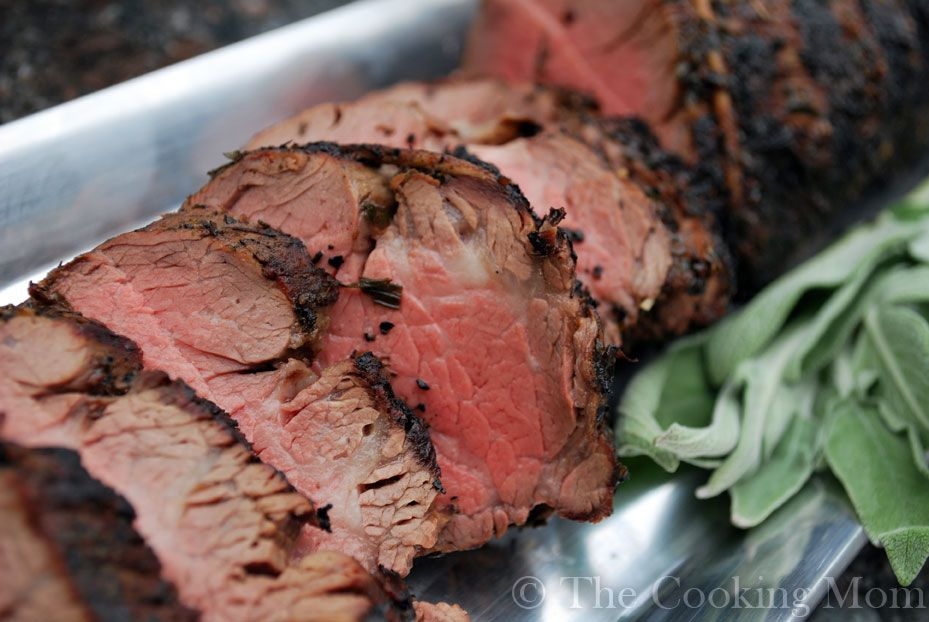 Grilled Herb Crusted Whole Beef Tenderloin