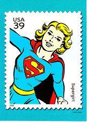 USA Supergirl Stamp