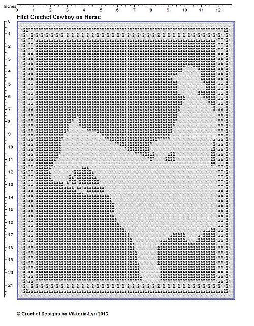 Filet Crochet PATTERN \