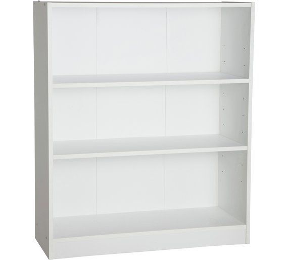 Buy HOME Maine Small Extra Deep Bookcase - White at Argosuk - schubladen organizer küche