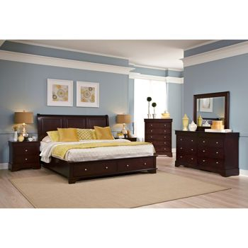 Costco: Avalon 6-piece King Storage Bedroom Set | For the Home ...
