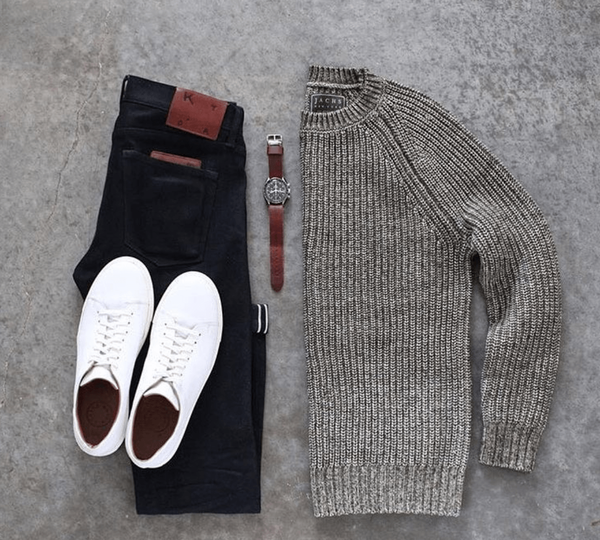 Men Outfits with Blue Jeans-27 Ways to Style Guys Blue Jeans