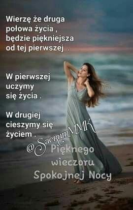 Pin By Wanda Swoboda On Milego Wieczoru Good Night Quotes Inspirational Quotes Funny Mems