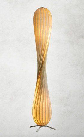 TR7 - Tom Rossau - Stehlampe modern - Holzfurnier - Design Lampen