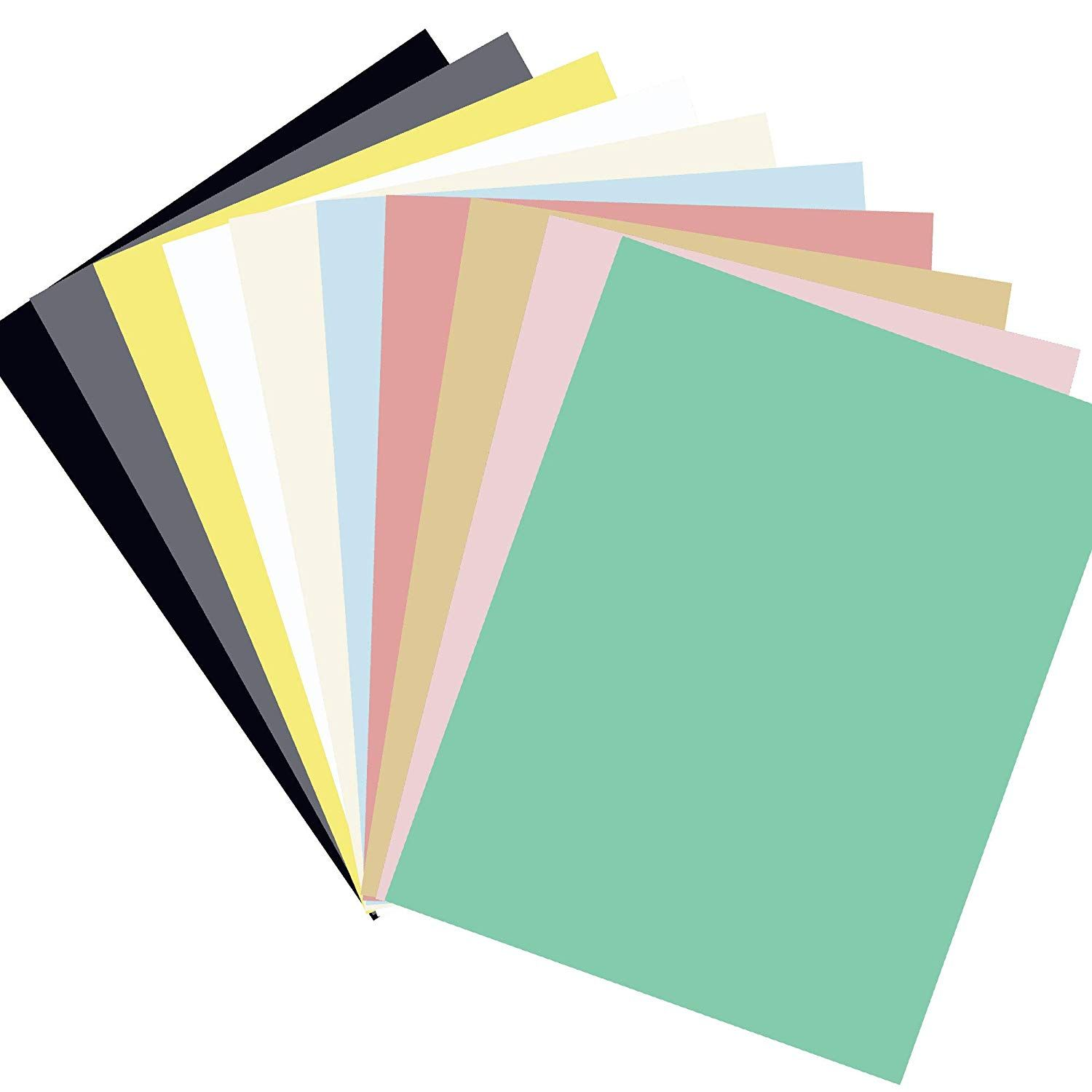 Diy Paper Cardstock 50 Sheets 10 Vivid Color Cardstock A4 Size 230gms Craft Paper For Card Making Scrapb Diy Craft Projects Diy Scrapbook Halloween Party Decor