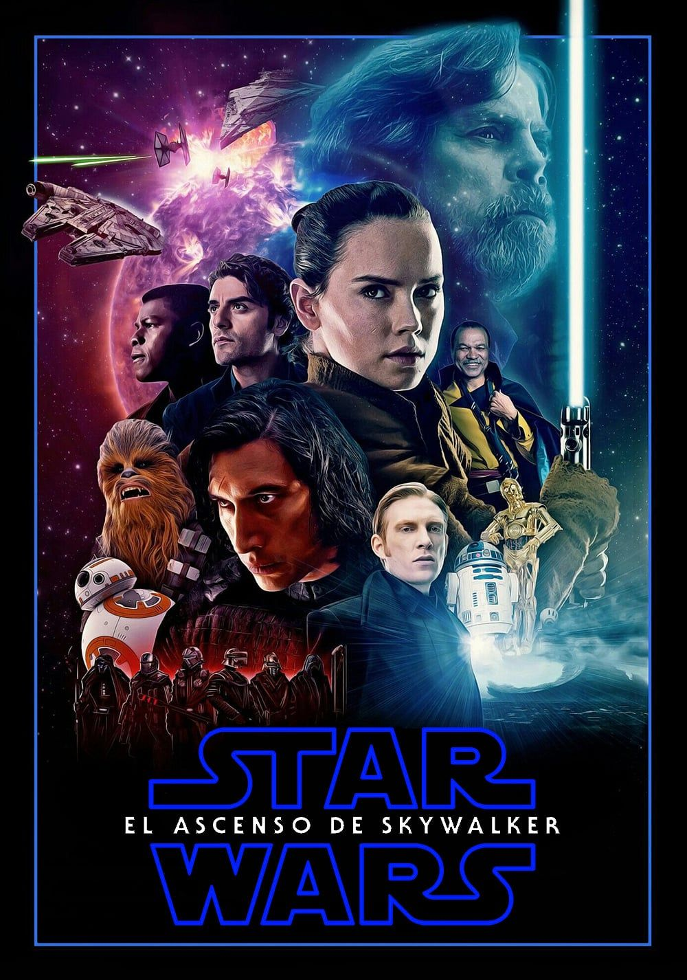 Watch The Rise Of Skywalker Star Wars Movie Illustrations De Star Wars Star Wars Fan Art Star Wars