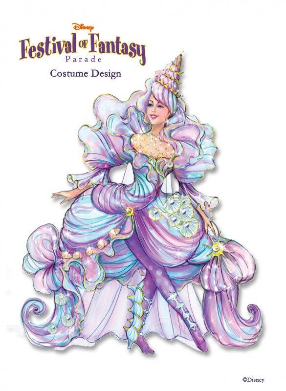 Sneak Peak of Disney's Festival of Fantasy Parade Costumes | DisneyLifestylers little mermaid