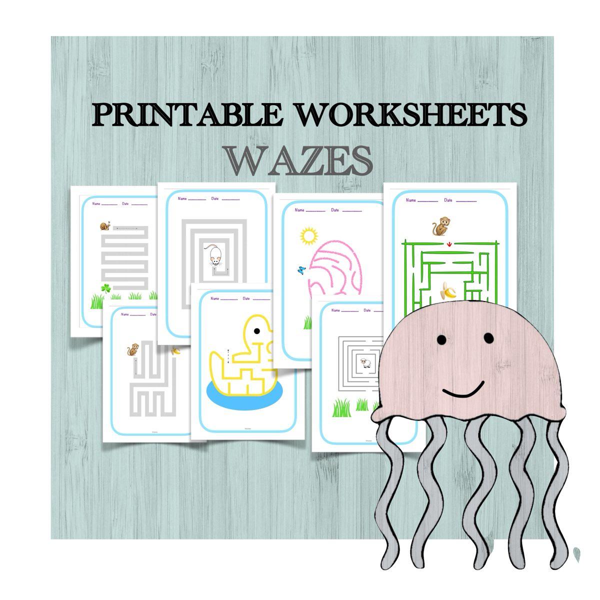 30 Printable Worksheets Maze For Kids Homeschool Education