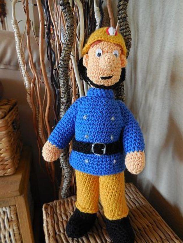 Feuerwehrmann Sam герои мультфильмов Pinterest Crochet