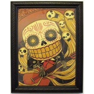 Mariachi De Los Muertos Derek Deal Howl Gallery Con Imagenes Arte Del Craneo