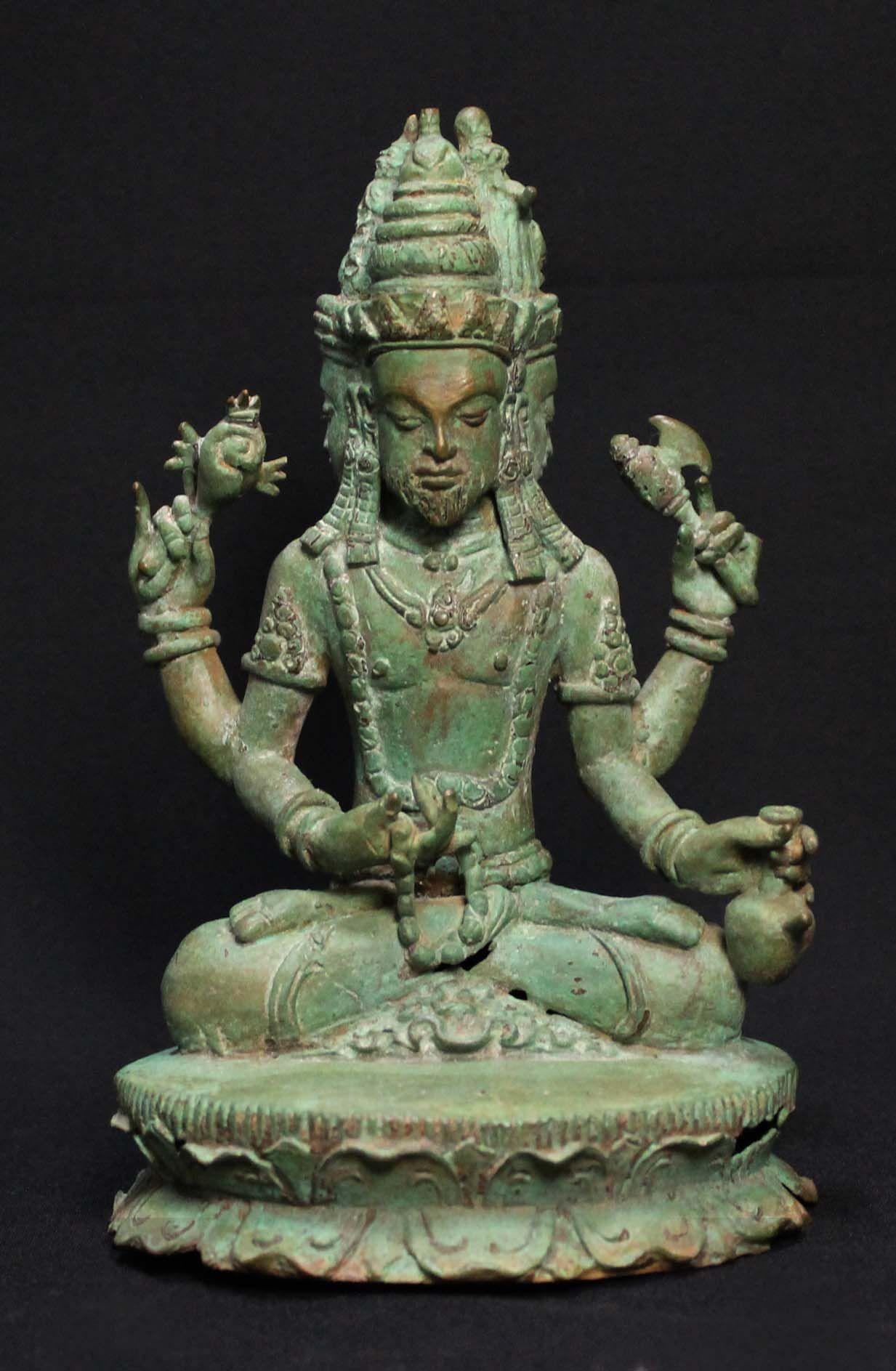 Ancient Shiva Statue