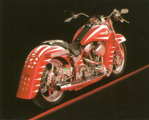 Poster Of Vintage Harley Davidson | Motorcycle Posters