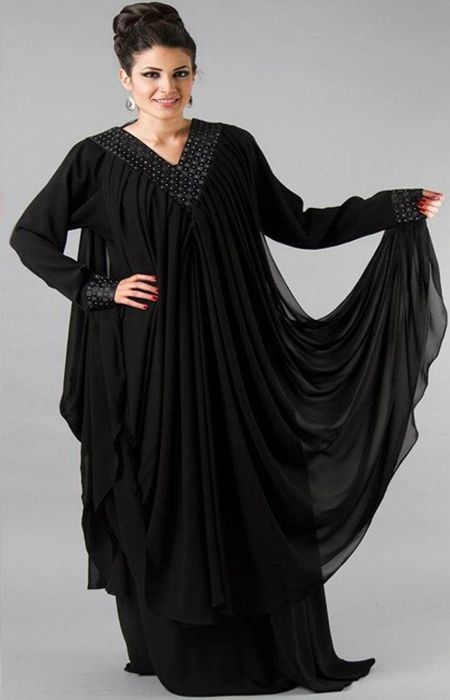 Latest Stylish Dubai Abaya Designs Collection For Girls Hijab