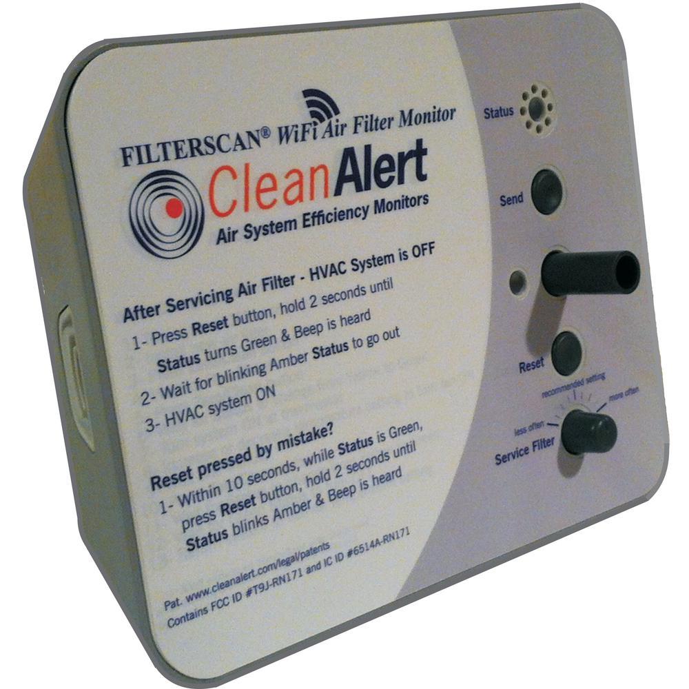 Filterscan Smart Air Filter Monitor 24 Volt Ac Dc Powered Air