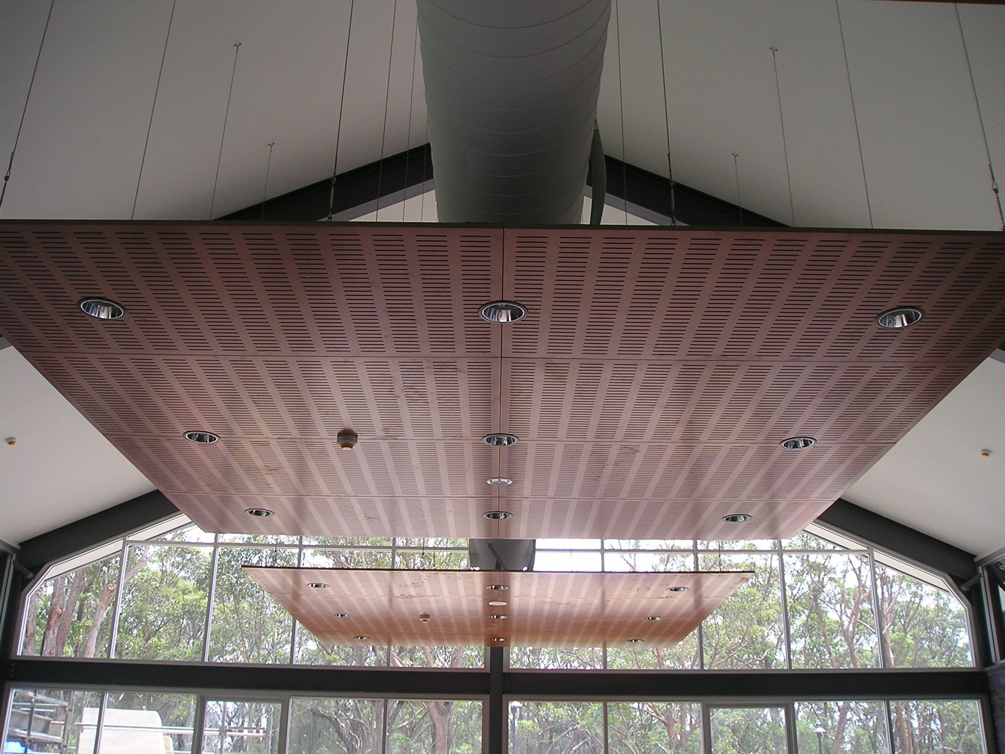 Wood Ceiling Treatments Acoustic Panels Creating User Friendly And Soundproof