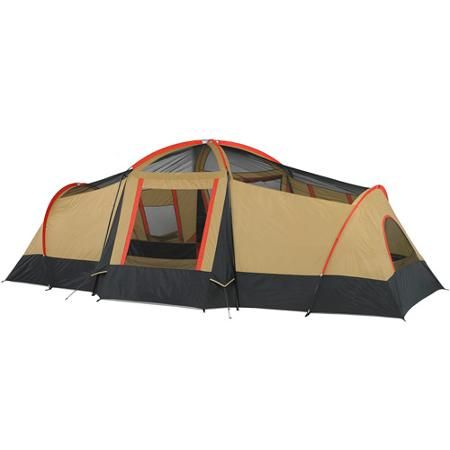 Ozark Trail 10-Person 3-Room Cabin Tent w/ Front Porch  sc 1 st  Pinterest & Ozark Trail 10-Person 3-Room Cabin Tent w/ Front Porch | Vacations ...
