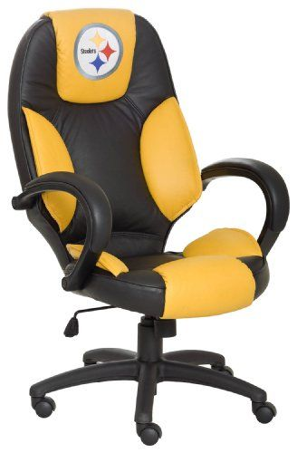 Gentil Pittsburgh Steelers Leather Office Chair