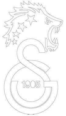 Takim Logo Ip Sanati Sablon Baski Sanat Dekor