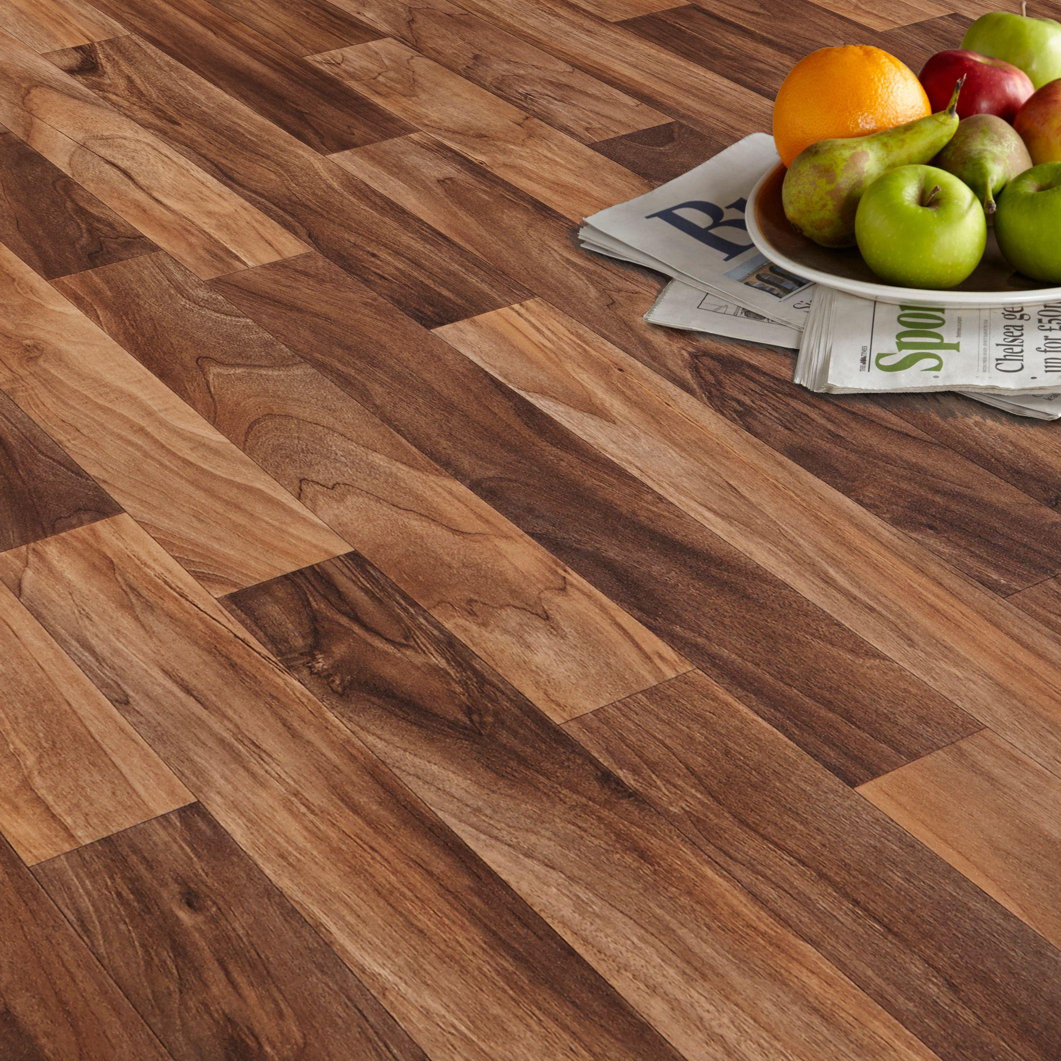 Arezzo walnut effect matt vinyl flooring 6 m interiors arezzo walnut effect matt vinyl flooring 6 m dailygadgetfo Choice Image