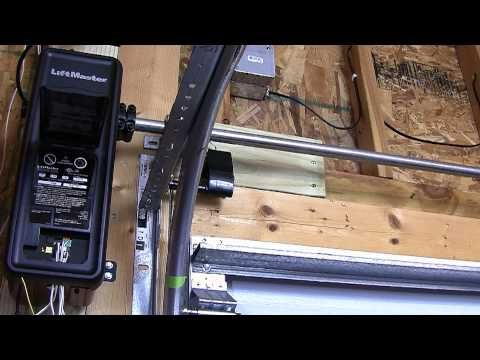 Liftmaster 8500 Jackshaft Travel Limits Programing Liftmaster Liftmaster 8500 Garage Door Makeover