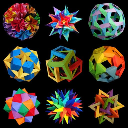 An introduction to the wonderful world of paper folding, with countless photos, instructions as well as mathematical explanations.