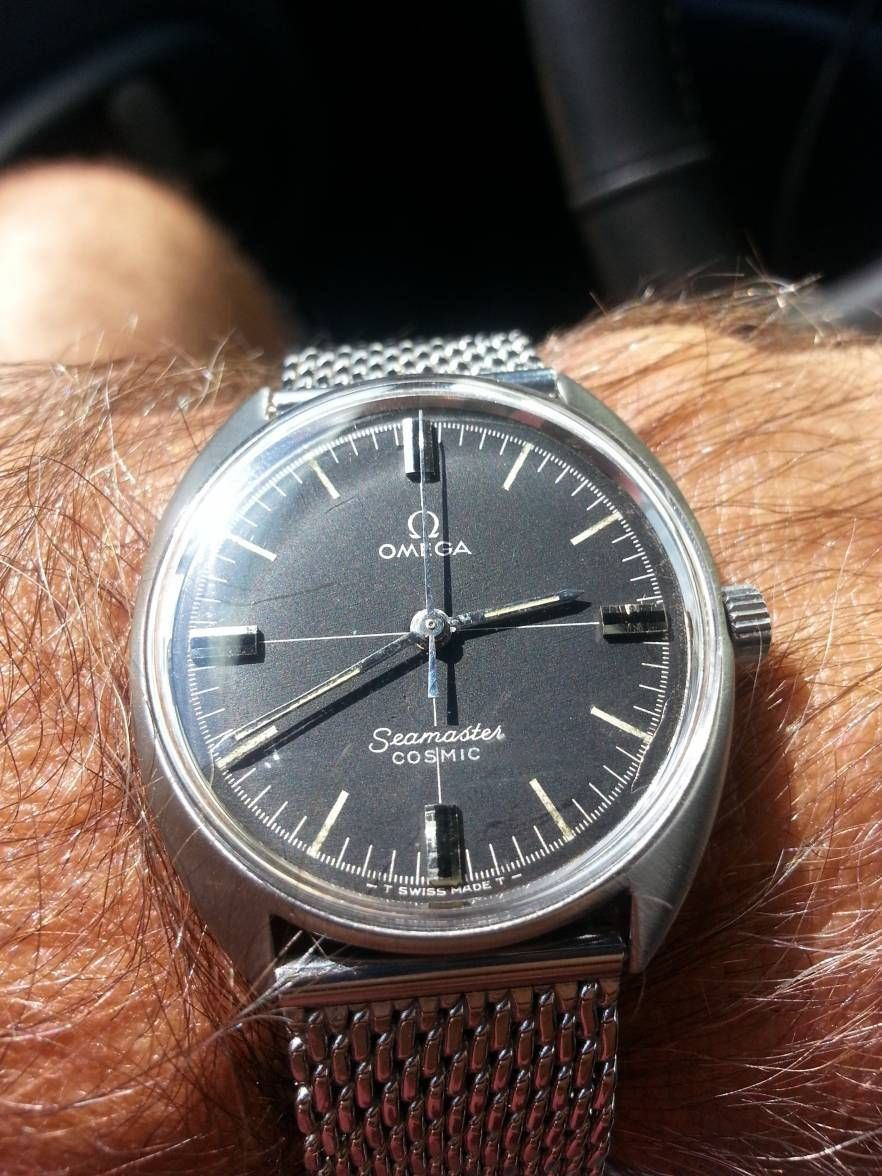 Vintage Omega Seamaster Cosmic C Case In Stainless Steel My Style