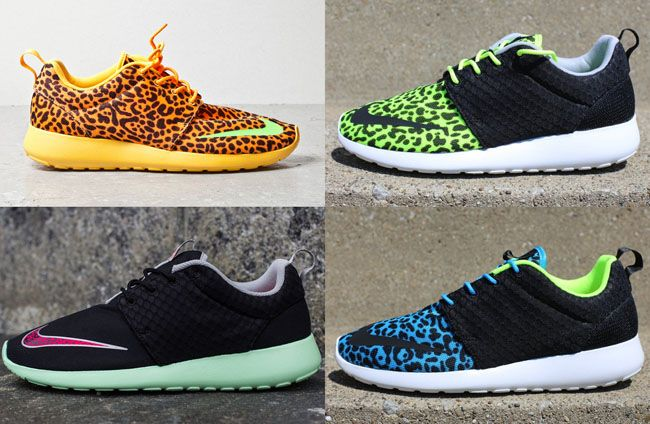 a7d86679145 Nike.com US Restocking  Roshe Run FB Pack  (Yeezy   Leopard ...