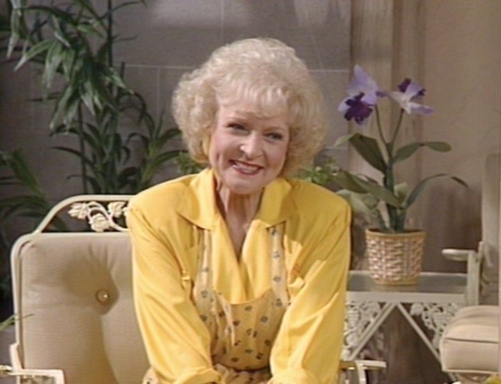 10 Of Rose Nylund S Funniest St Olaf Phrases Golden Girls Betty White Girl Fashion
