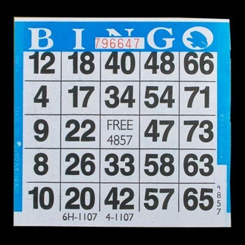 Jackpot Bingo Supplies