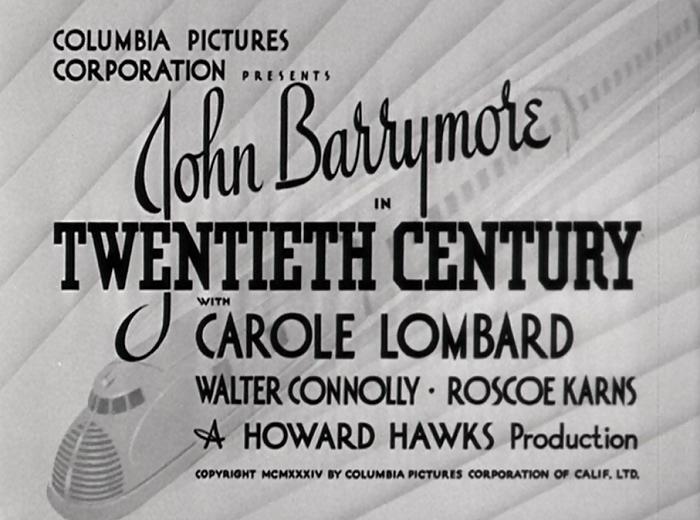Twentieth Century (1934) with Barrymore and Lombard |Pre-Code.Com