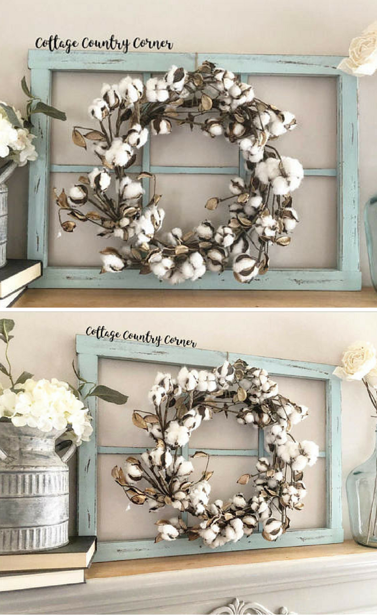 Window frame pane faux rustic antique entryway wall decor living room home also  farmhouse rh pinterest