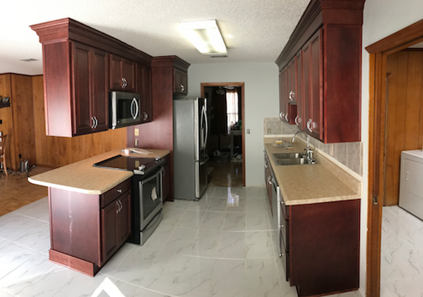Another finished kitchen cabinets installation by Rabbit ...