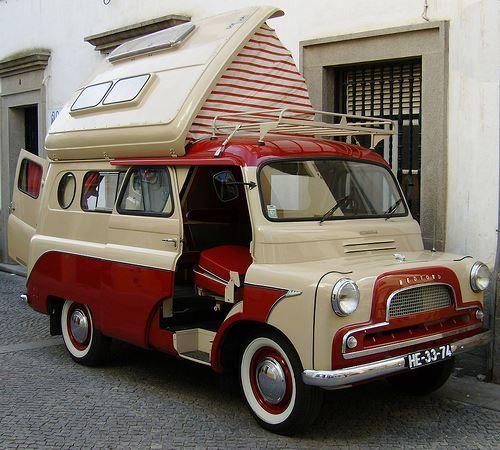 1966 Bedford Dormobile Camper Van
