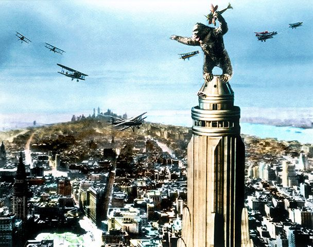 The 10 Best Last Lines In Pictures King Kong King Kong 1933 Film Stills