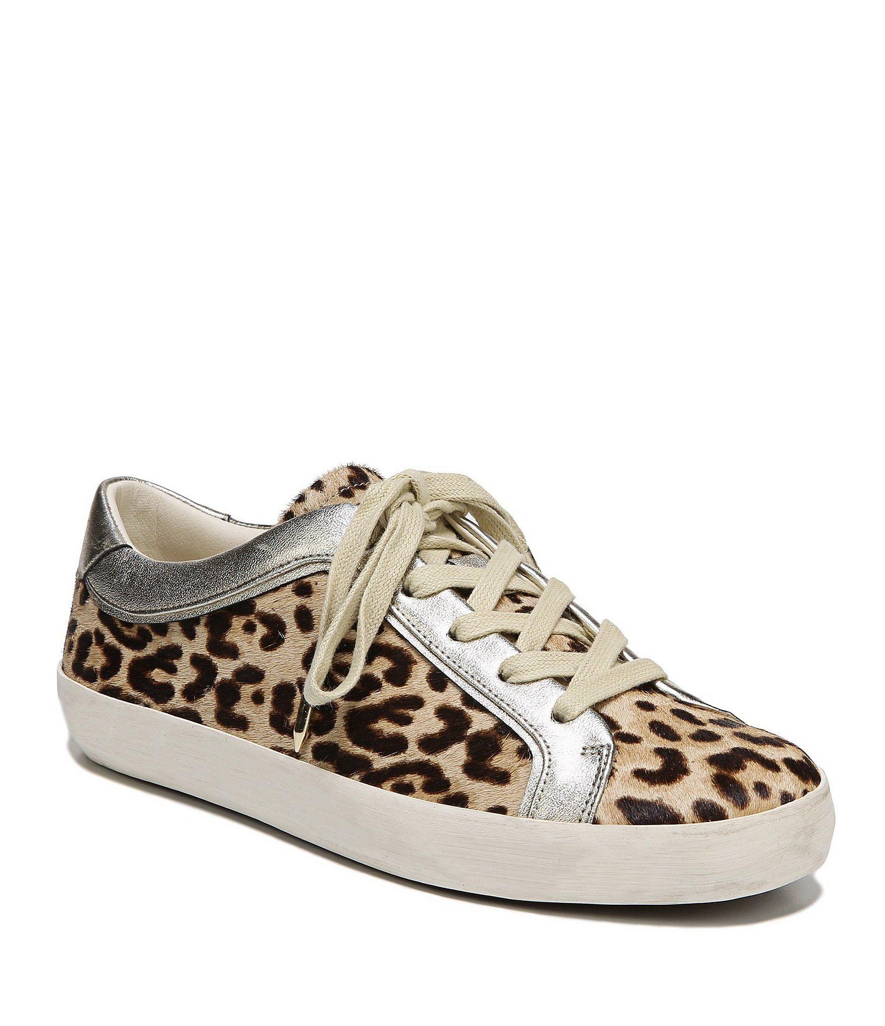 a273f3f09 Shop for Sam Edelman Britton 2 Leopard Print Brahma Hair Sneakers at ...