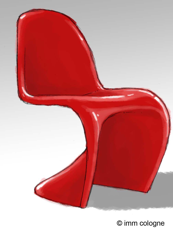 Panton Chair By Verner Panton #IMMCologne