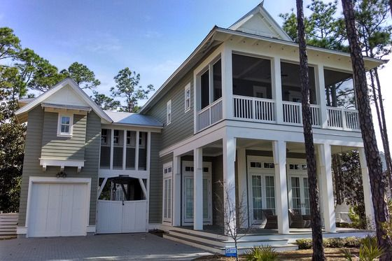 Cottage Style House Plan - 3 Beds 2.5 Baths 1687 Sq/Ft Plan #443-11 - Houseplans.com #beachcottagestyle