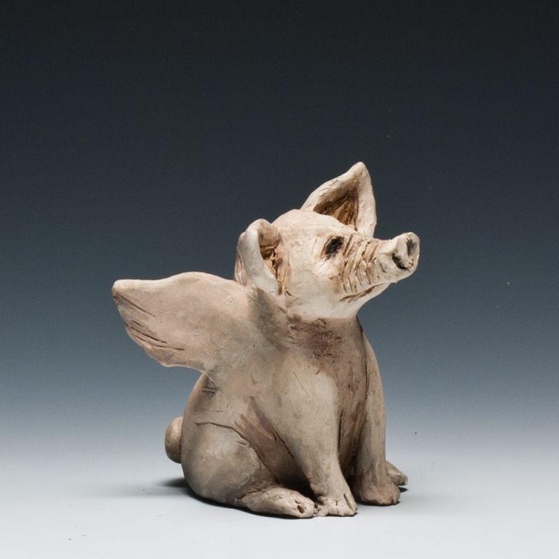 Becky Gray Flying Pig Whistle