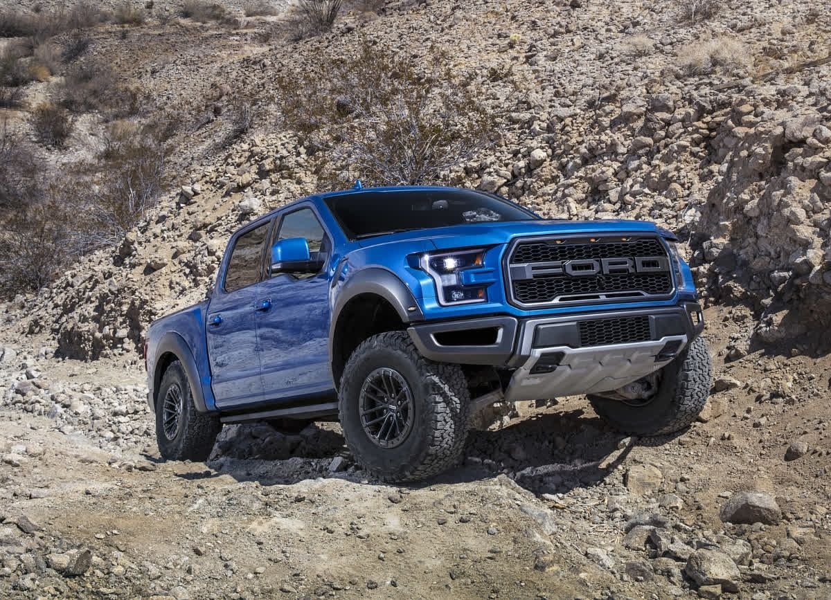 You Will Not Get Away Unnoticed In The Ford Raptor Ford Velociraptor Ford Raptor Ford F150 Raptor