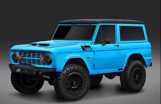 Beautiful Baby Blue Bronco