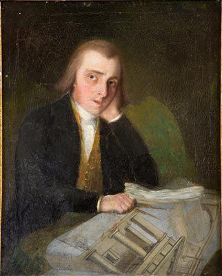 Thomas Telford, ca. 1792 (Unknown Artist)  Shrewsbury Museums, UK