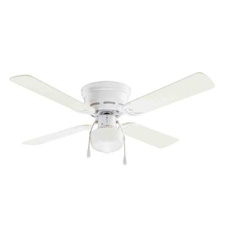 Mainstays 42 ceiling fan with lighting white walmart 42 mainstays hugger indoor ceiling fan with light white walmart aloadofball Images