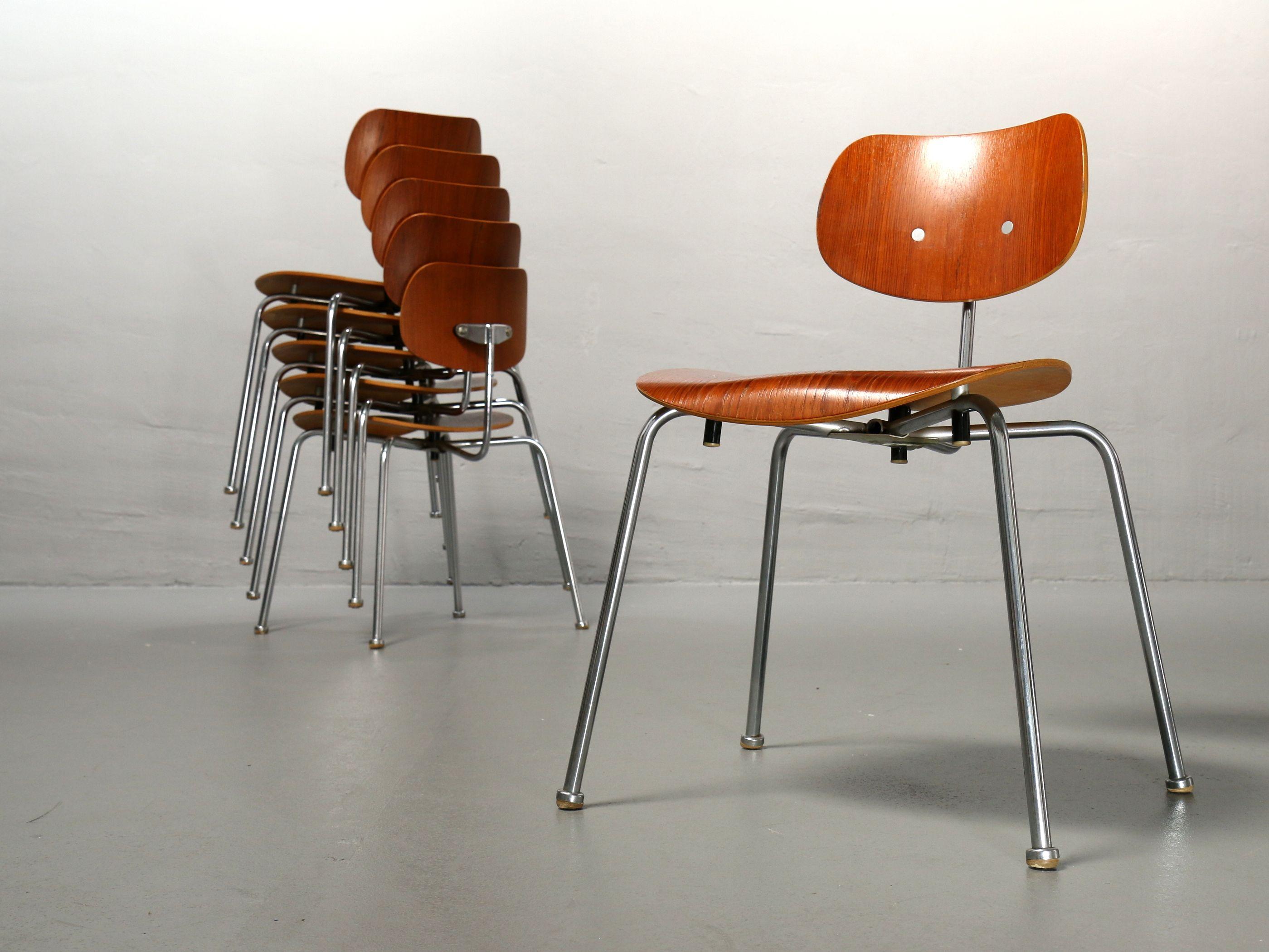 Fantastische Egon Eiermann Stühle SE 68 von Wilde+Spieth. Modelle ...