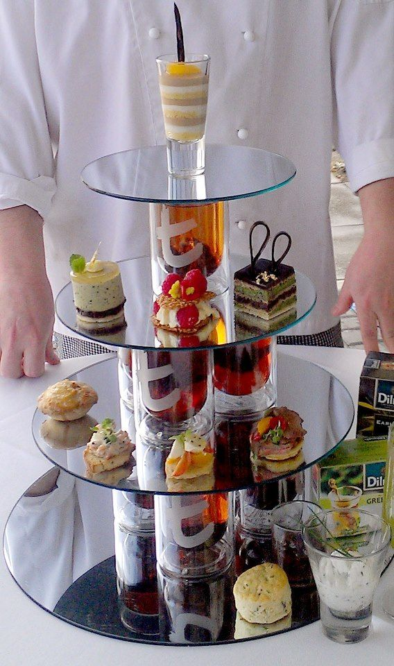 Our winning creation for Dilmah High Tea Challenge High