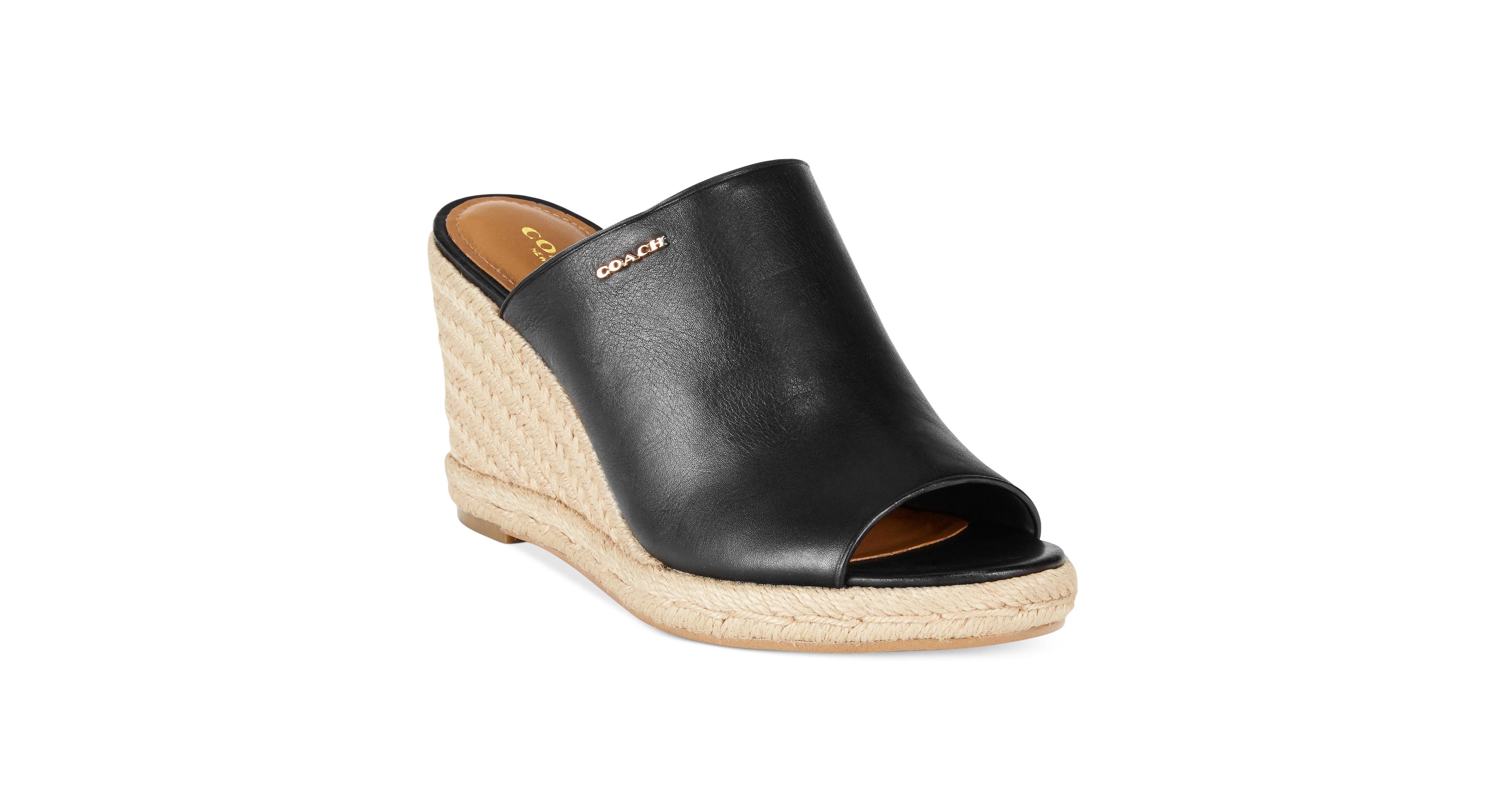 a34c1fd6646 Coach Gayle Espadrille Wedge Sandals   shoes   Wedges, Espadrilles ...