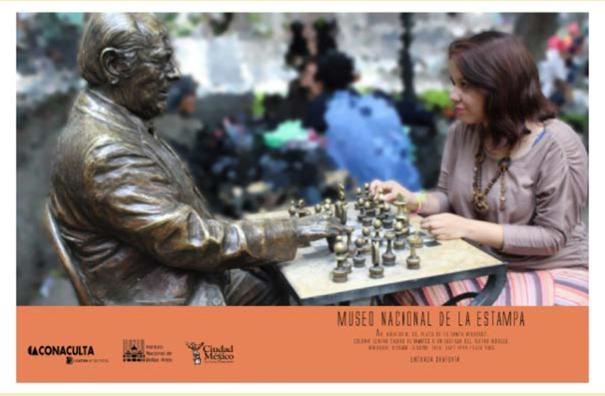 EDITORIAL** Cartel publicitario / MUNAE  (proyecto personal) Diseño: M. Fernanda Gómez J.