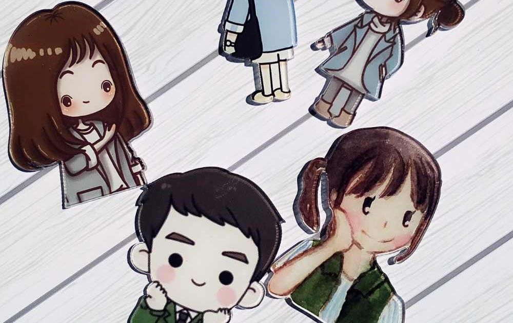 Keren 30 Gambar Kartun Drama Korea Dots 1 Pc Hot Sale